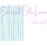 Essential Oils: Lavender Sleep and CFS