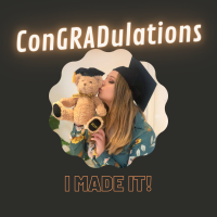 ConGRADulations- I made it!